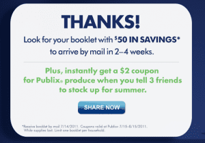 publix Publix $50 Coupon Book + $2 off Produce Coupon