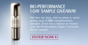 shiseidobio 300x155 Free Sample Shiseido Bio Performance Super Corrective Serum!