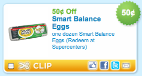 smart eggs $0.50 off Smart Balance Eggs Coupon!