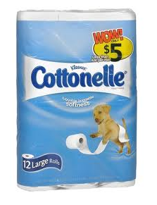 cottonelle 12pk 12 pk of Cottonelle Toilet Paper only $1.50 at Walgeens (7/31 Only!)