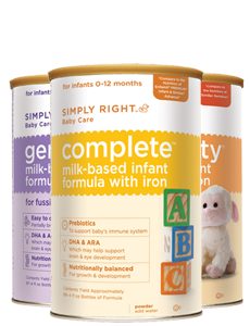 simply right Free Sample: Simply Right Infant Formula