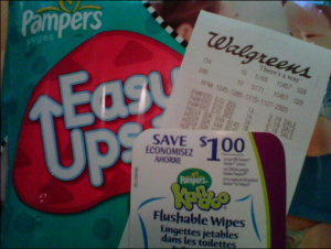 walgreens pampers 300x226 Great Diaper Deals at CVS, Walgreens and Amazon!