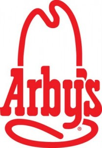 Arbys logo 208x300 Arbys: FREE Small Drink & Fries with Chicken Sandwich Purchase