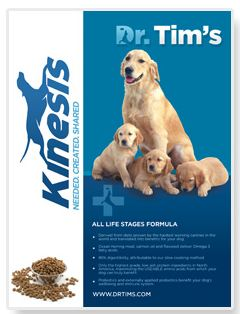 Dr Tims Dog Food Free Sample of Dr. Tims All Natural Premium Dog Food