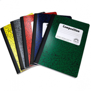 composition books 300x297 Set of 5 Composition Books for only $0.40 at Walmart.com!