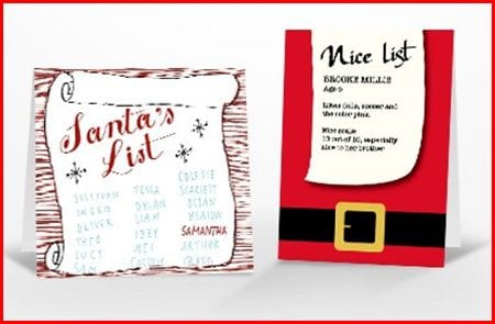 freetiny Free Personalized Santa Card