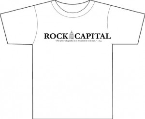 rock *HOT* Free Rock The Capital T Shirt