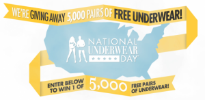 underwear 300x146 Fresh Pair: Enter to Win 1 of 5,000 Pairs of Underwear!