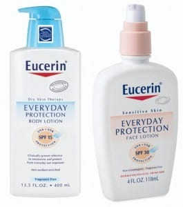 eucerin everyday protection lotion blessings abound mommy 265x300 Free Sample Eucerin SPF 15 Lotion