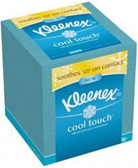 Kleenex Cool Touch Tissue 2 Free Samples of Kleenex Cool Touch   1 link is new!