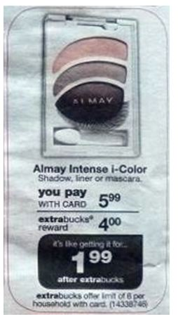 almay cvs Almay Money Maker at CVS!