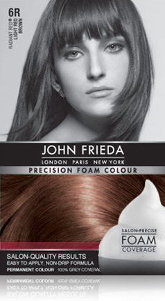 john frieda foam color Free Box of John Frieda Precision Foam Color
