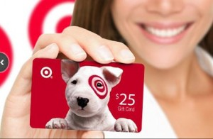 target gift card 300x196 $25 Target Gift Card + $50 Restaurant.com Gift Certificate for only $25!
