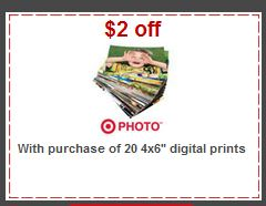 target photo prints coupon 20 Free 4x6 Prints at Target