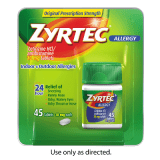 Zyrtec 40 ct. High Value Coupons: $3 off Visine and $4 off Zyrtec