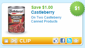 castelberrys $1 off Castleberry Canned Products Coupon
