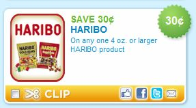 hairbocoupon Haribo Gummy Bears only $0.67 at Walmart!