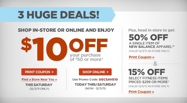 sports authority 10 off 15 off and 50 off 123 only mojosavingscom