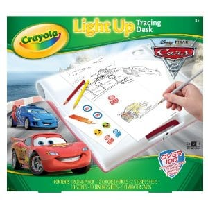 cars light up desk Crayola Cars 2 Light Up Tracing Desk only $10 Shipped