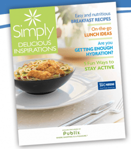 publix coupon book Publix Simply Delicious Inspirations Coupon Booklet with $26 in Coupon Savings