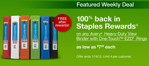 staples 4 free heavy duty binders mojosavings com