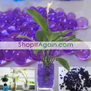 Crystal Water Beads1 300x300 Free Bag of Crystal Soil Water Beads (Purple)