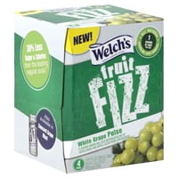 Fruit Fizz 4 pack Welch's 4 pk Fruit Fizz $2 off 1= Only $0.99 at Target or Walmart! Available Again!