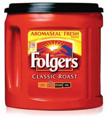 folgers Smokin Hot!! Free Folgers Coffee   (33.9 oz.) at Office Depot!!!