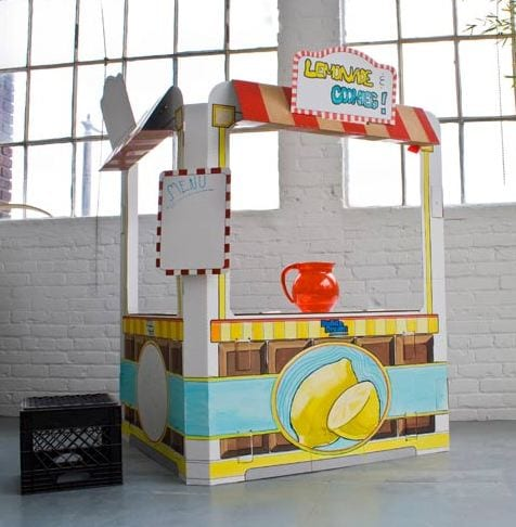snack shack Giveaway: Win One of Two Build a Dream Playhouses + Sticker Set