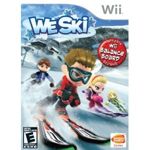 we ski We Ski for Wii only $4.79 shipped!