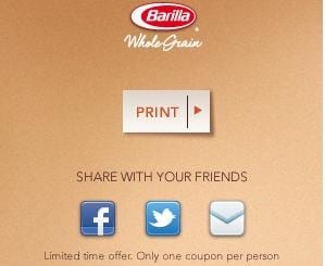 Barilla Free Pasta at Walmart High Value $1/1 Barilla Pasta Coupon = Free or Near Free!!