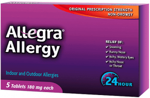 allegra Free Allegra Allergy at CVS and Walmart