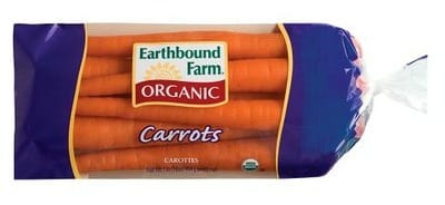 Earthbound Farm Organic carrots FREE Earthbound Carrots at Walmart