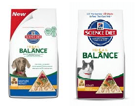 Hills Science Diet Ideal Balance Science Diet Ideal Balance Cat or Dog Food Rebate Offer (Up to $12.99 Value)
