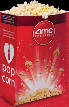 amc theater Free Small Popcorn at AMC Theaters April 13   15!