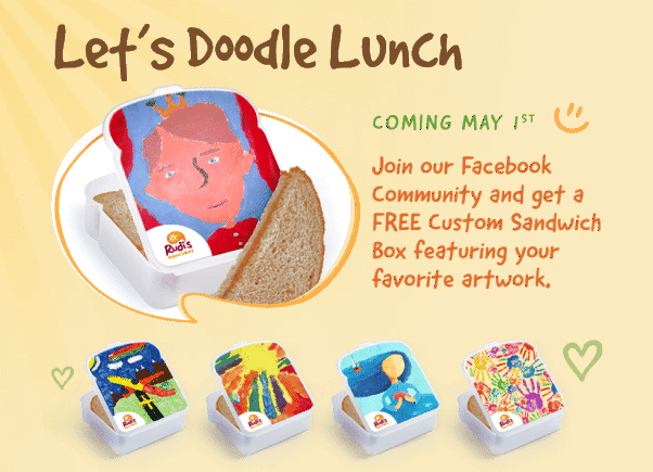 lunchbox Free Customized Sandwich Box   Live Now!
