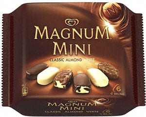 magnum mini Free Magnum Ice Cream Bars at Target!
