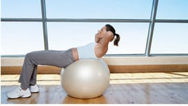 workout program Free Stability Ball from FitStudio