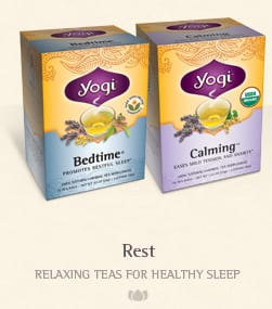 yogi tea rest FREE Yogi Tea Samples for You or A Friend!