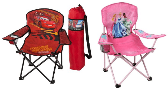 Superb Kids Folding Chairs Only 7 83 Shipped From Kohls Disney Pabps2019 Chair Design Images Pabps2019Com