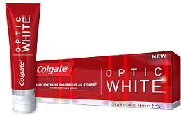 Colgate Optic Free Colgate Optic White Toothpaste