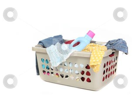 Laundry basket photo Laundry Product Coupons and Deals Week of 12/8