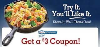 birds eye coupon $3 off Birds Eye Voila Coupon!