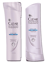 clearsamp FREE Clear Scalp and Therapy Shampoo and Conditioner Sample