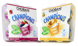 Chobani Champions 4 pack1 300x180 Chobani Champions Yogurt $1 off Coupons= Just 50¢ at Target