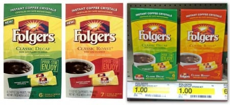 Folgers single packs