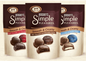 Hersheys Simple Pleasures FREE Hersheys Simple Pleasures at Rite Aid and Target!
