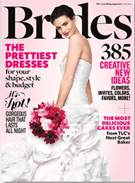 brides2 FREE 1 Year Subscription to Brides Magazine!