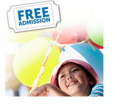 freeadmission FREE Admission to Your Favorite Family Attractions