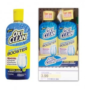 oxiclean dishwashing booster 282x300 OxiClean Dishwashing Booster Money Maker at Target!